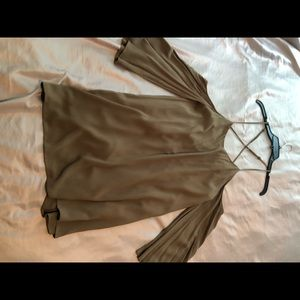 NWT olive green Tobi dress